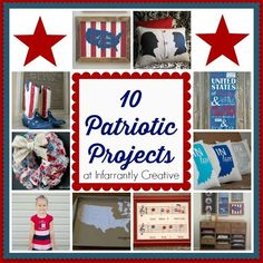 Patriotic Crafts | 10 American Pride Projects for Memorial Day and the Fourth of July