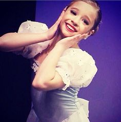 I truly believe that Mackenzie has grown and matured into a beautiful young dancer. She's no longer the cute Kenzie she was in season 1 and I believe if abby gives her just as good as solos she gives maddie in this next season she will be a star just like her sister one day! Seeing her at the masterclass yesterday, she dances so much like her sister now and it's amazing. Love you Kenzie! Xx