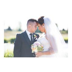 fabulous vancouver wedding The sweetest. #Love this shot by @deniselinphoto. #Makeup & #hair by principal stylist Danielle. #alldolledupmakeupandhair #makeupartist #hairstylist #photoshoot #couple #romance #wedding #weddingday #ido #bridal #muah #vancouvermakeupartist by @alldolledupstudio  #vancouverwedding #vancouverweddingmakeup #vancouverwedding