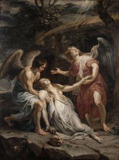 Mary Magdalene in Ecstasy / Extase de Marie-Madeleine / El éxtasis de María Magdalena // ca. 1619-1620 // Pierre Paul Rubens // Lille, Palais des Beaux-Arts
