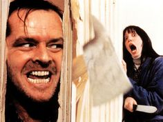 'Here's Johnny': the scene in which Jack Nicholson's madman hews through a bathroom door in search of wife Wendy (Shelley Duvall) has been imitated countless times throughout pop culture The Shining Film, Shining 2, Jack Nicholson The Shining, Danny Lloyd, Here's Johnny, Stanley Kubrick, The Expendables, Portraits, Great Films