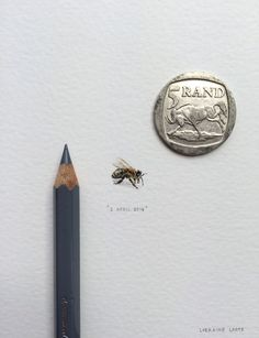 A Miniature Painting a Day by Lorraine Loots | http://www.yatzer.com/lorraine-loots