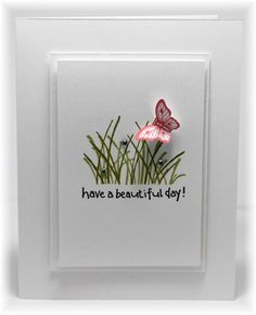 beautiful day CAS card by Becky