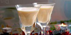 Domácí vaječný koňak   NejRecept.cz Homemade Eggnog, Thing 1, Party Snacks, Sangria, Glass Of Milk, Lime, Food And Drink, Pudding, Whiskey