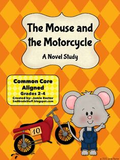 b2ca19e09df Grade Stuff: Common Core{The Mouse and the Motorcycle Novel Study}