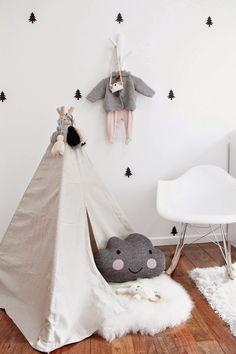 La tienda de dibus: Bebés en las nubes: decorando la habitación infantil con dulces nubes