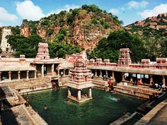 The Uma Maheshwara Swamy temple at Yaganti, #AndhraPradesh, is dedicated to Lord Shiva.