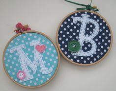 """4"""" Embroidery Hoop Art"""