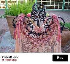"""""""Social Butterfly"""" Hand dyed vintage lace flapper style cocktail dress #craftshout #shoppershour"""