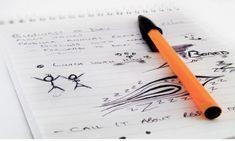What doour unconscious scribbles mean?