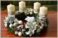Adventný venček s vtáčikom a orieškami pre Popolušku :-) Autor: merika4. Artmama.sk. Vianoce, vianočné dekorácie, vianočné ozdoby, advent, vianočný stromček, handmade, diy.