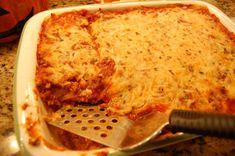 I love lasagna!