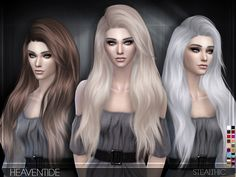 Stealthic – Heaventide (Female Hair) | Sims 4 Updates -♦- Sims Finds & Sims Must Haves -♦- Free Sims Downloads