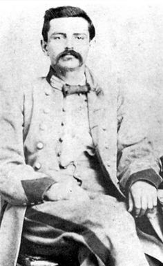 Cpt. Cristobal Benavides (1839–1904). A Tejano and younger half-brother of Santos Benavides. He enlisted in his brothers company of the 14th Texas Cavalry Battalion and, after the later received command of the 33rd Texas Cavalry Regiment, commanded a company of that unit. After the war he was a businessman and state politician and married the daughter of Confederate Brig. Gen. Hamilton P. Bee.