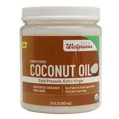 Walgreens Unrefined Coconut Oil - 29 oz.