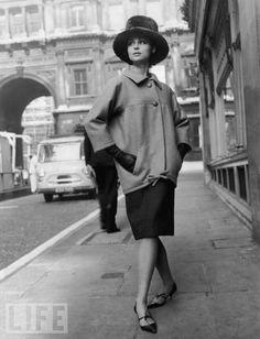 Vintage Yves Saint Laurant fashion photos