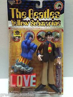 (TAS008418) - Collectible The Beatles Yellow Submarine Action Figure