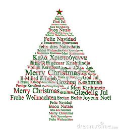 Merry Christmas In Different Languages - Download From Over 27 Million High Quality Stock Photos, Images, Vectors. Sign up for FREE today. Image: 33550626