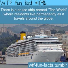 WTF Facts : funny & weird facts. My dream home. Lifetime vacation.