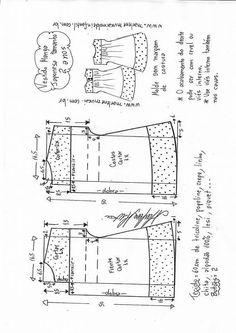 New Sewing Patterns Free Dress Kids Ideas Kids Clothes Patterns, Baby Dress Patterns, Kids Patterns, Sewing Patterns Free, Clothing Patterns, Sewing For Kids, Baby Sewing, Make Your Own Clothes, Pretty Baby