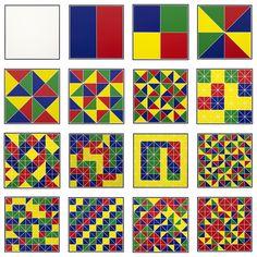 Eduardo Terrazas, Crecimiento orgánico [Organic Growth], 1975 - 2013 Serigrafía sobre papel [silkscreen on paper], 35 x 35 cm c/u [each]. Proyectos Monclova
