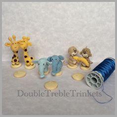 Micro crochet - Crocheted animals