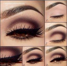 Arab smokey eye