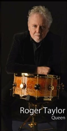 ROGER TAYLOR STARS IN DW ICON™ SNARE DRUM AD