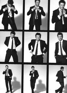 -Hugh Jackman - Hugh Jackman Photo - Fanpop- Celebrities are more apt to know how to pose than non-celebs and models. Portrait Photography Poses, Men Photography, Photo Poses, Hugh Jackman, Male Models Poses, Poses References, Boy Poses, Posing Guide, Man Photo