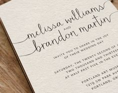 Printable wedding invitation by VGriffithsDesigns on Etsy, $30.00