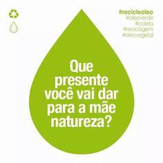 Tudo que a mãe-natureza deseja é respeito consciência e atitude. Vamos juntos cuidar do planeta. Destine o óleo de fritura do seu estabelecimento para reciclagem e ganhe kits de limpeza a cada 50 litros doados. Ligue 31 3017-3141 e cadastre-se para receber o coletor de óleo grátis. A mãe-natureza agradece. #oleoverde #coleta #reciclagem #oleodefritura #sustentabilidade #bares #restaurantes #lanchonetes #padarias #pastelarias #recicleoleo #bh #mg #residuos #recicle #recycle #sustainable…