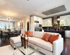 Concept living room kitchen design pictures remodel decor and ideas