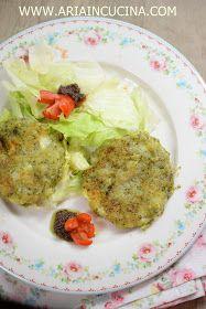 Blog di cucina di Aria: Burger vegetariani di patate, broccoli ed emmenthal