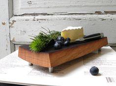 cutting board footed French oak eco friendly by SwedishGuyDesign, $69.00