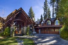Luxury Nineteen-Seventy Holiday Villa On Lake Tahoe, USA | Pursuitist