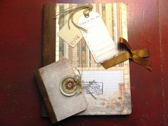 Things to do Altered Composition Notebook Set by JandKKreations