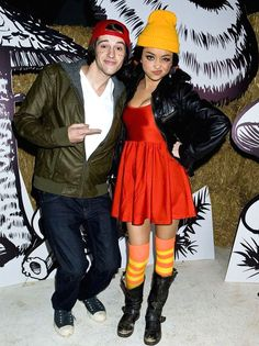 Dress up as Ashley Spinelli from Recess for Halloween.