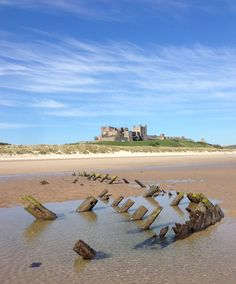 This photo was taken by Kieron Donoghue at Bamburgh Beach.  Please do not copy or redistribute this photo without the permission from the owner.
