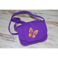 Etoi Design - fioletowa torebka dziewczęca