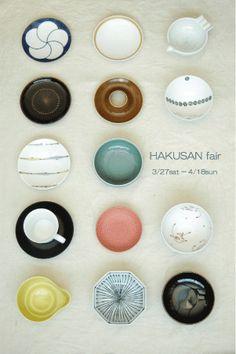 Japanese Tableware / 白山陶器