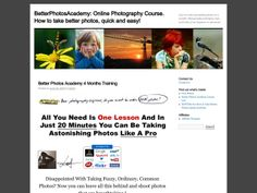Photography Online Course - http://www.vnulab.be/lab-review/photography-online-course