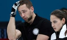 Alexander Krushelnitsky (left) and his wife Anastasia Bryzgalova were disqualified from the Winter Games after they won bronze in the mixed curling and he tested positive for meldonium, although he claims he may have been spiked by a disgruntled rival.