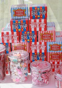 Big Top Carnival 1st Birthday Party