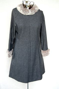 Baby it's Cold OutsideVintage Dress with faux by CoziDivaBoutique, $20.00