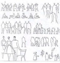 Resultado De Imagen De Architecture People Drawings Silhouettes