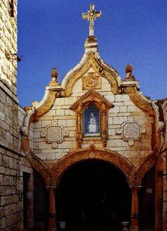 The Milk Grotto Church  Bethleham, Jerusalem.
