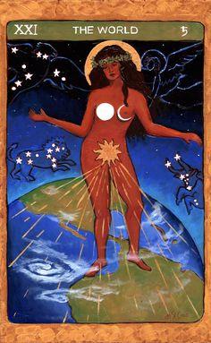 The World - Tarot de St. Croix