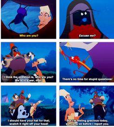 """Mushu from """"Mulan"""" Funny Disney Memes, Disney Jokes, Disney Cartoons, Disney And More, Disney Fun, Disney Magic, Disney Stuff, Disney And Dreamworks, Disney Pixar"""