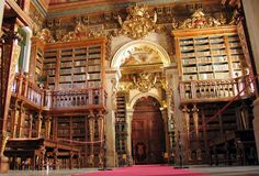 Biblioteca Joanina da Universidade de Coimbra - Portugal | Joanina Library