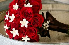 Red Rose Bouquet - Soleil Flowers
